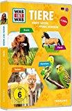 Was ist was: Tiere - Hunde, Katzen, Pferde, Heimtiere [4 DVDs]