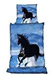 Bertels 1/0213780572 Bettwäsche Pferd im Wasser