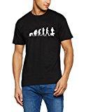Shirtzshop T Shirt Standard Edition Dogsitter Hundehalter Evolution, Schwarz, XXL, ss-shop-ev2_dogs-t